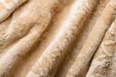 Folds in a sheepskin Jacket  — Stock Photo