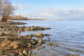 Dnieper River — Stock Photo