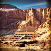 Hatshepsut Temple in the Valley of the Kings — Stock Photo