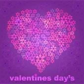 Valentines day design — Stock Vector
