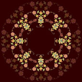 Artistic ottoman pattern series twenty three — 图库矢量图片