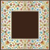 Artistic ottoman pattern series twenty seven — Stock Vector