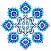 Konstnärliga ottomanska mönster serien femtio en — Stockvektor