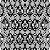 Background with seamless pattern four — 图库矢量图片