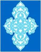Artistic ottoman pattern series seventy four — Stock Vector