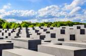 Memorial to the Murdered Jews of Europe, Berlin on May 04 2015 B — Stock Photo
