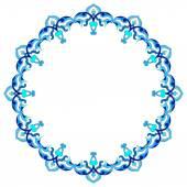 Artistic ottoman pattern series eighty nine — Stock Vector