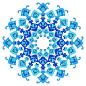 Artistic ottoman pattern series eighty five — Stock Vector