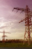 Electrical tower — Zdjęcie stockowe