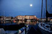 Harbor in france — Stock Photo
