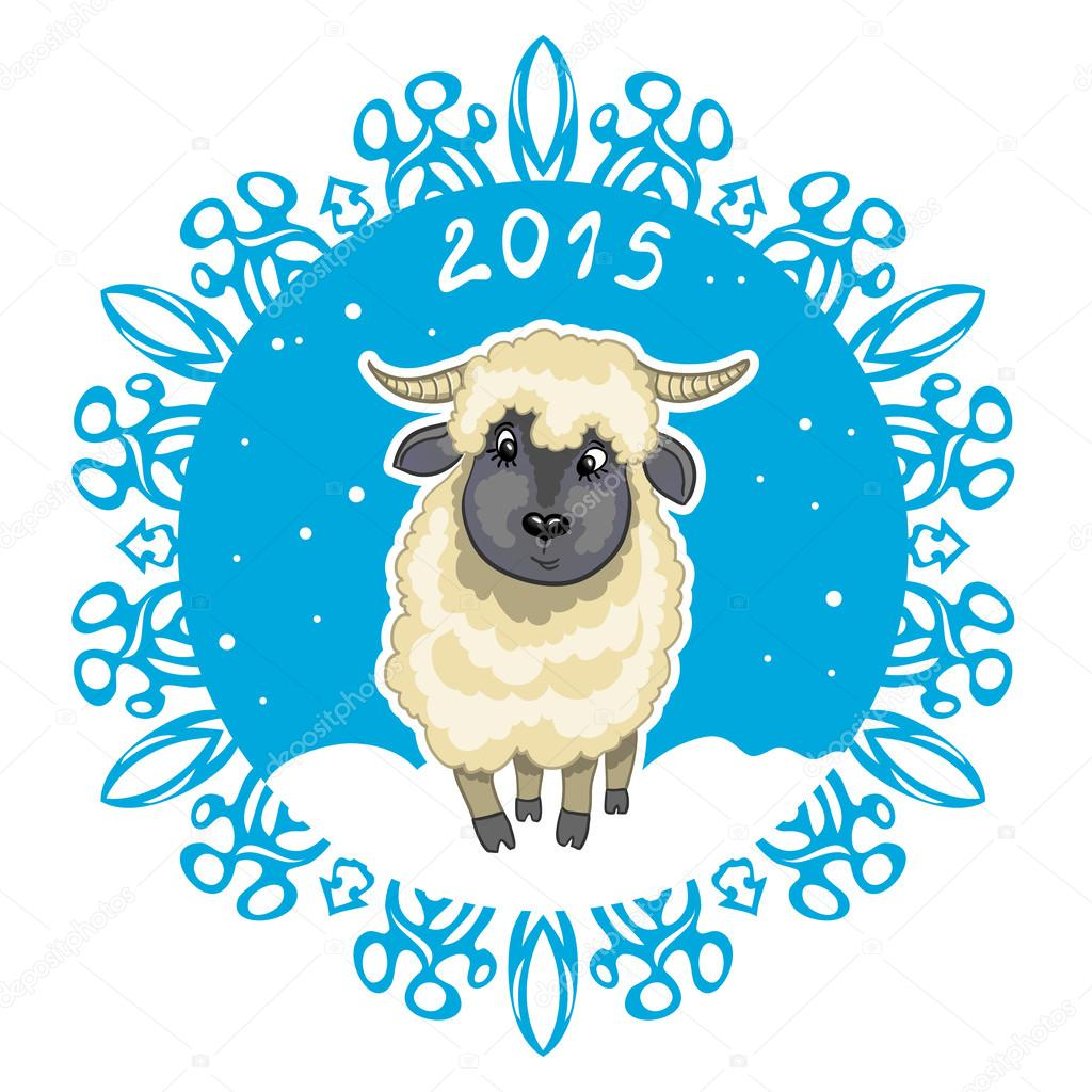 Sheep Symbol For Facebook Cute Sheep Symbol of 2015