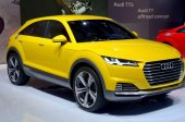 "MOSCOW - 29.08.2014 - Automobile Exhibition ""Moscow International Automobile Salon"" — Stok fotoğraf"