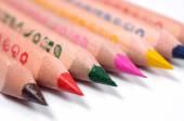 Set of bright colored pencils — Zdjęcie stockowe