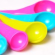Multicolored measuring spoons. — Stock Photo #71347935