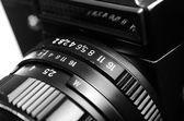 Old film camera — Stock Photo