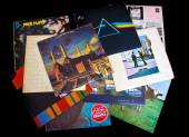 Pink floyd records — Stock Photo
