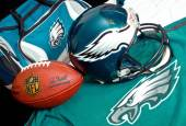Philadelphia eagles equipment — Stock Photo