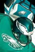Philadelphia eagles apparatuur — Stockfoto