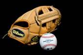 Major league baseball equipment — Stock Photo