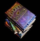 Heroes of Olympus books — Stock Photo