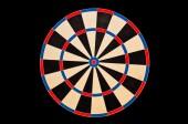 Dartboard target — Stock Photo