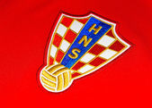 Croatian football — Stock Photo