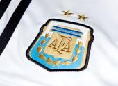 Argentina football — Stock Photo