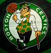 Boston Celtics NBA — Stock Photo