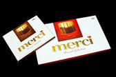 Merci chocolate — Stock Photo