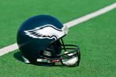 Philadelphia eagles NFL helmet — Stock Photo
