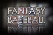 Druki baseball fantasy — Zdjęcie stockowe