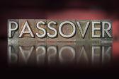 Passover Letterpress — Stock Photo