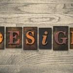 Design Concept Wooden Letterpress Type — Stock Photo #62281551