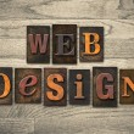 Web Design Wooden Letterpress Concept — Stock Photo #63768689