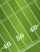 Fond de champ diagonal de football américain — Vecteur
