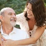 Happy tourists couple — Stock Photo #78501620