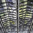 Metal roof structure — Stock Photo #66588029