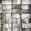 Old concrete fence background — Stock Photo #74270615