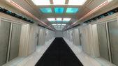 Fütüristik koridor — Stok fotoğraf