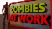 Zombies at work — Stock Photo