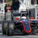 Постер, плакат: Driver Kevin Magnussen Team McLaren F1