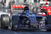 Driver Carlos Sainz. Team Toro Rosso — Stock Photo