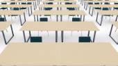 School classroom interior — Stock Photo