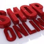 Shop online sign — Stock Photo #72459265