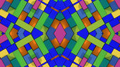 Abstract symmetry and colors — ストック写真