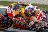 Driver Dani Pedrosa. Repsol Honda Team — Stock Photo