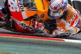 Driver Dani Pedrosa. Repsol Honda Team — Zdjęcie stockowe