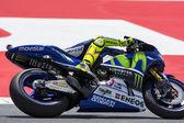 Valentino Rosi. Yamaha Team — Stock Photo