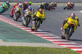 Edgar Pons. Moto2. Paginas Amarillas Team — Stock Photo