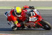 Team Monlau Repsol Technical. 24 hours endurance Catalunya — Stock Photo